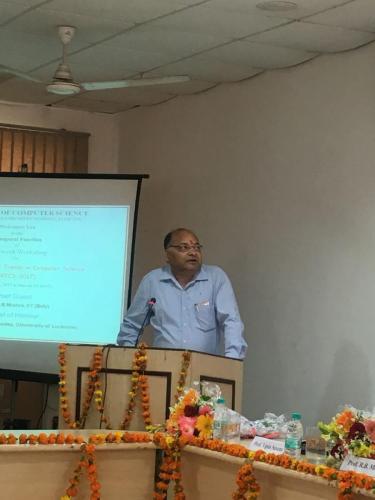 7 days workshop at Lucknow University